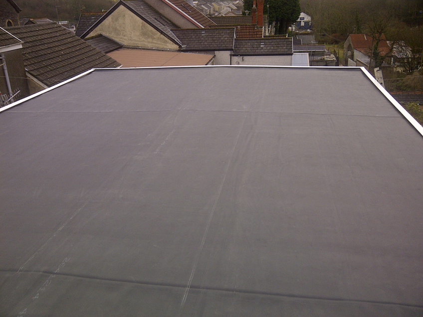 EPDM Rubber Flat Roofs