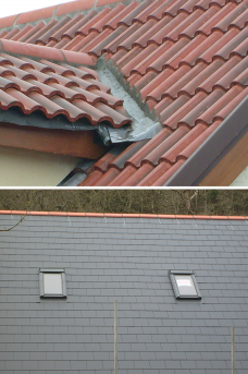 Slate and Tiled Roofs